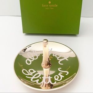 Kate Spade Lenox Ring Holder All That Glitters NWT